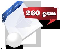 260gsm glossy