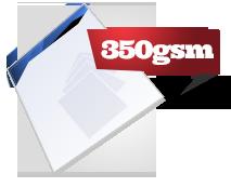 350gsm board